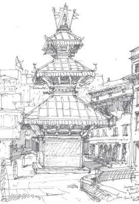 A Sketch from the Book.