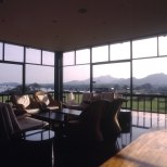 Lounge with Views of the Hills.