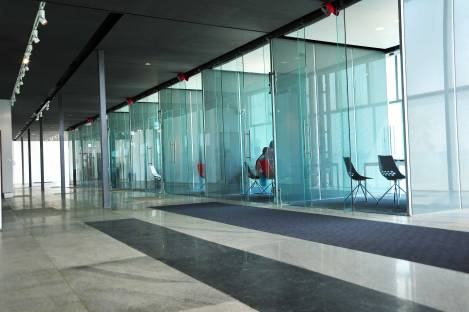 Meeting Spaces at the lower level