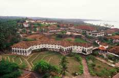 Areal view: Ruhunu University Campus.