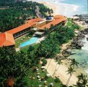 Areal View of the Hotel.