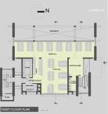 Dining Block: First Floor Plan