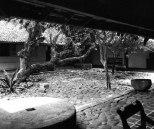 Courtyard of the Ena De Silva house by Helene Binet.