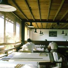 Bawa's office at 2, Alfred House Road in Colombo. [1985 Image]