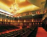 Interiors - Sri Lanka Parliament.