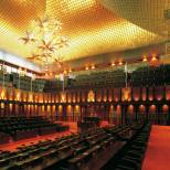 Interiors - Sri Lanka Parliament.