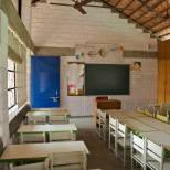 The classrooms of the Primary Block.
