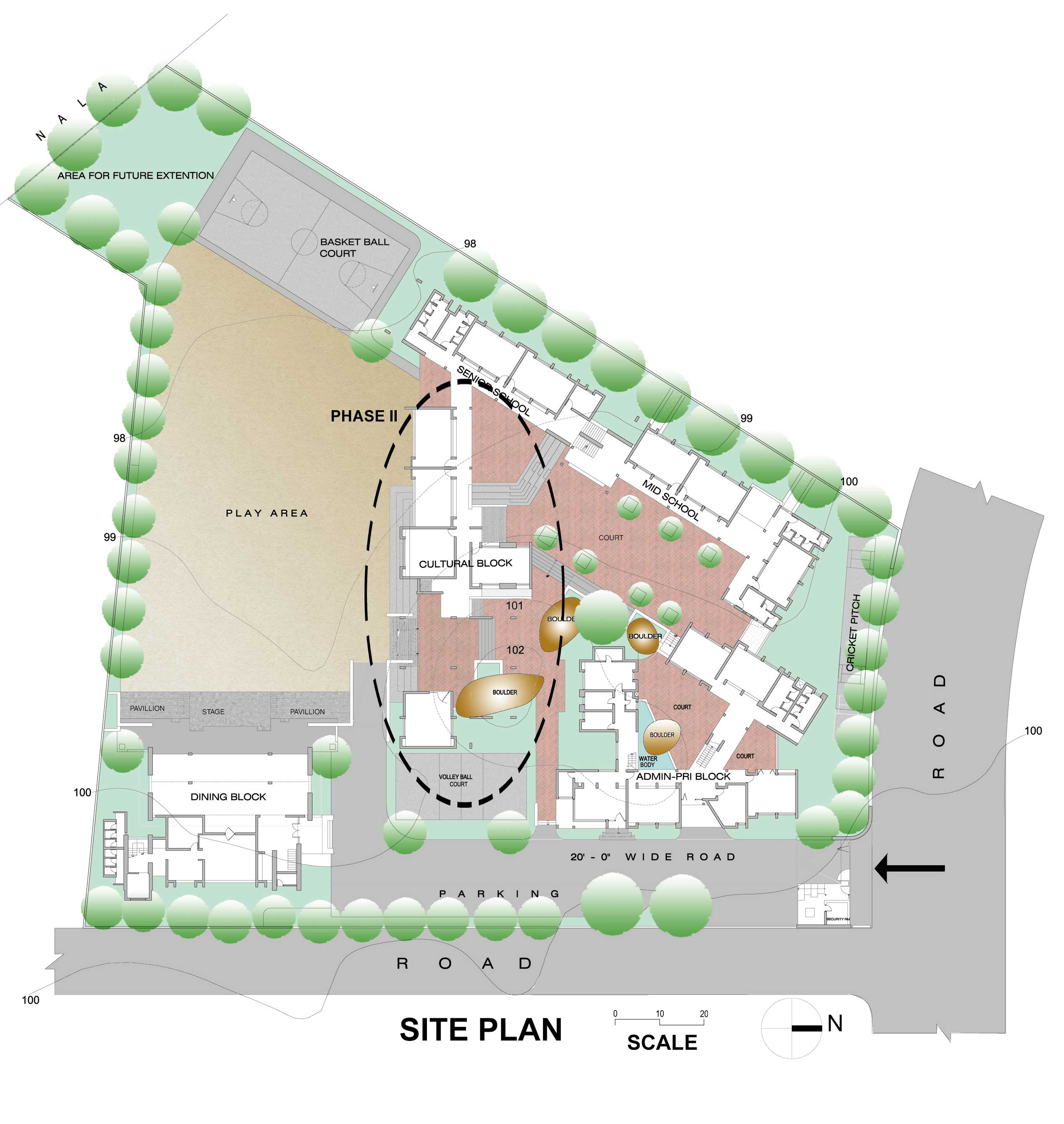 Simple house site plan for Home site plan