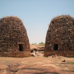 Moving further up, one can find granaries that were built probably during Maratha period.