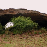 Shidalphadi Cave is one of the most beautiful naturally built caves of Badami. One needs to travel 3km on the hills to reach this point. It has cave paintings that date back to the 2nd and 1st Millennia BCE according to the ASI Museum, Badami.