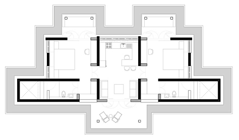 Plan of the House (the main structure)