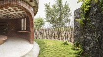 A private garden.