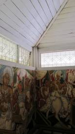 The ambulatory of the Gothami Temple showing GK Murals, DGR 2012