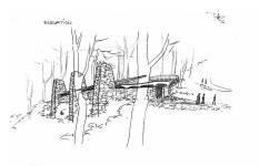 Art Centre, Horana, unbuilt, 1957, UP, LASWA