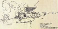 Habibullah Hse, India, unbuilt, 1958, UP, LASWA