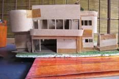 Original model of Segar House, 1991, DGR 2012
