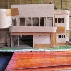 Original model of Segar House, 1991, DGR 2012