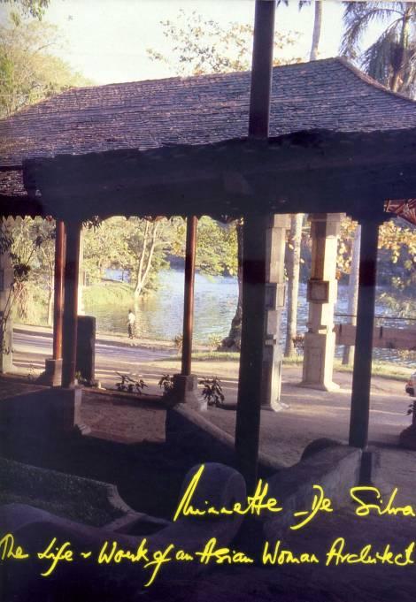 Cover of Vol I of Minnette de Silva's autobiography, 1998
