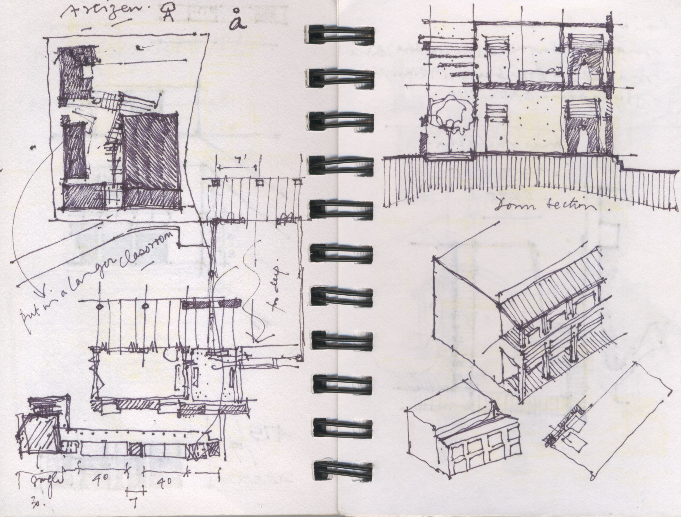 Drawings matter for Notion architecture