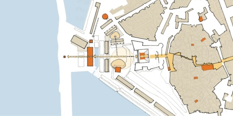 Proposal for the Waterfront, Crotone, Italy [Venice Biennale 2006]. 07
