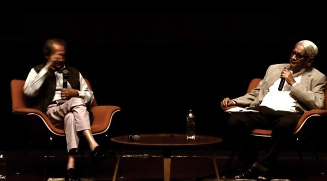 In Conversation: Charles Correa + Jyotindra Jain