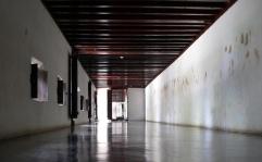 Corridor passage view