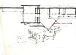 Sketch for the Shergadh House.