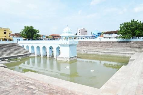 Brahama Pushkarni Koneru (Temple Tank).