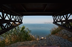 View from the seating, Eye on the Lake, Shabbir Unwala, Khadakwasla, architecture, India