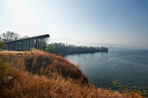 Eye on the Lake, Shabbir Unwala, Khadakwasla, architecture, India