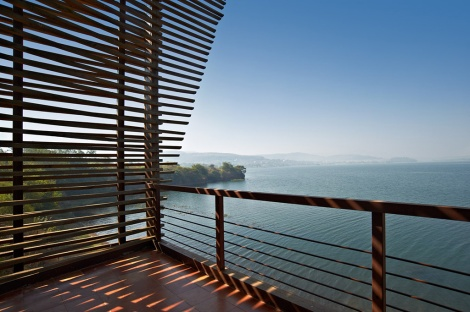 Balcony, Eye on the Lake, Shabbir Unwala, Khadakwasla, architecture, India