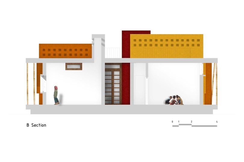 Section B, Casa Rana, Made in Earth, Tamil Nadu, Foster home for HIV-positive children