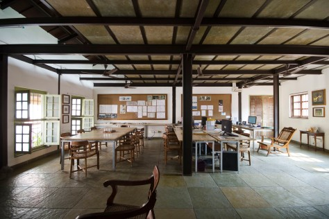 Conference & Workstations, Khushru Irani Design Studio, Architecture, Pune, India, Adaptive Reuse, Restoration