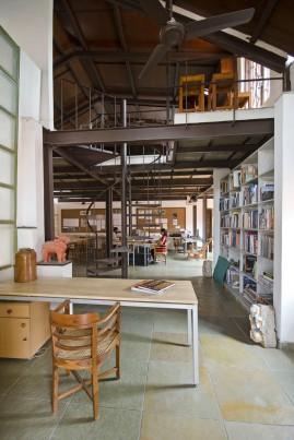Model Making Studio, Khushru Irani Design Studio, Architecture, Pune, India, Adaptive Reuse, Restoration