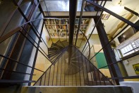 Staircase, Khushru Irani Design Studio, Architecture, Pune, India, Adaptive Reuse, Restoration