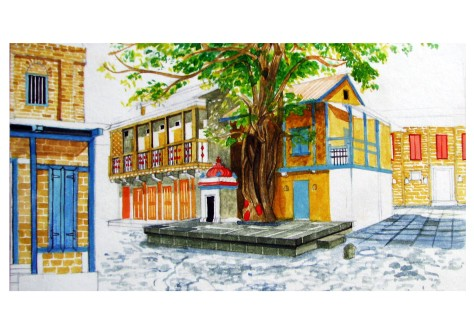 013-travel-sketches-pune-street