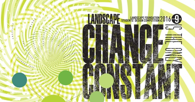 Landscape Foundation: Students' Design Competition 2016