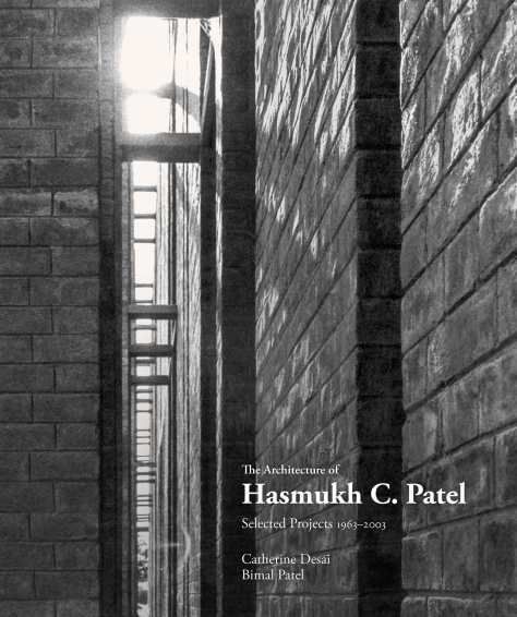 Book Cover: Looking between the expressed columns and the main wall of the front facade while entering the Newman Hall in Ahmedabad,1963