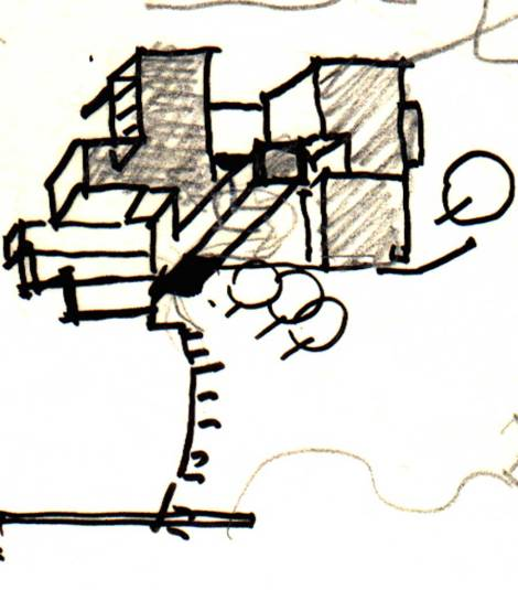 Drawings for the Soparkar House [1999-2001] 01_Mausami Andhare