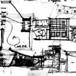Shrujan Campus [2004] drawing by Uday Andhare