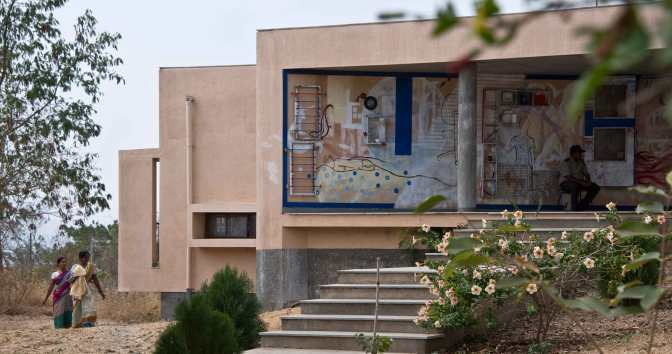 Sahyadri School : Khushru Irani Design Studio, Pune