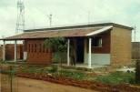 EWS Housing at Kuthambakkam: A semi-enclosed kitchen in the verandah.