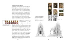 Page Spread: Documenation of Reconstruction of Temple no. 5 at Ashapuri