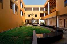 Nursing College: Inner Courtyard