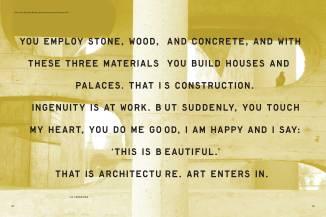 Le Corbusier, Towards a New Architecture, 179.