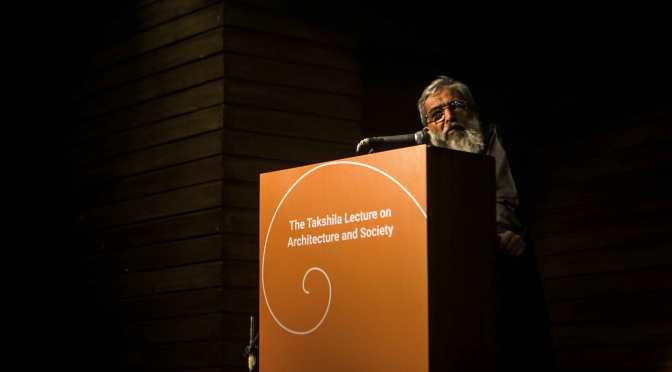 [TML]  The Takshila Lecture on Architecture and Society