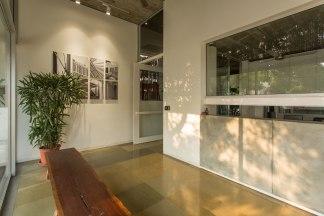 The studio lobby