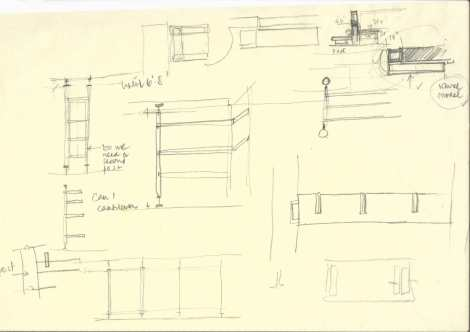 1. 'Library as a veranda¬' interpreted in a detail drawing_ drawn by Shubhra Raje