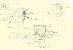Mutha school_ plan organizational studies_ drawn by Shubhra Raje