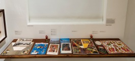 Installation Shot: Designs for Air India | Image Courtesy: Chatterjee & Lal
